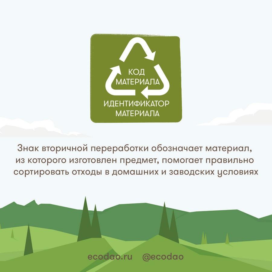 Знак вторичной переработки