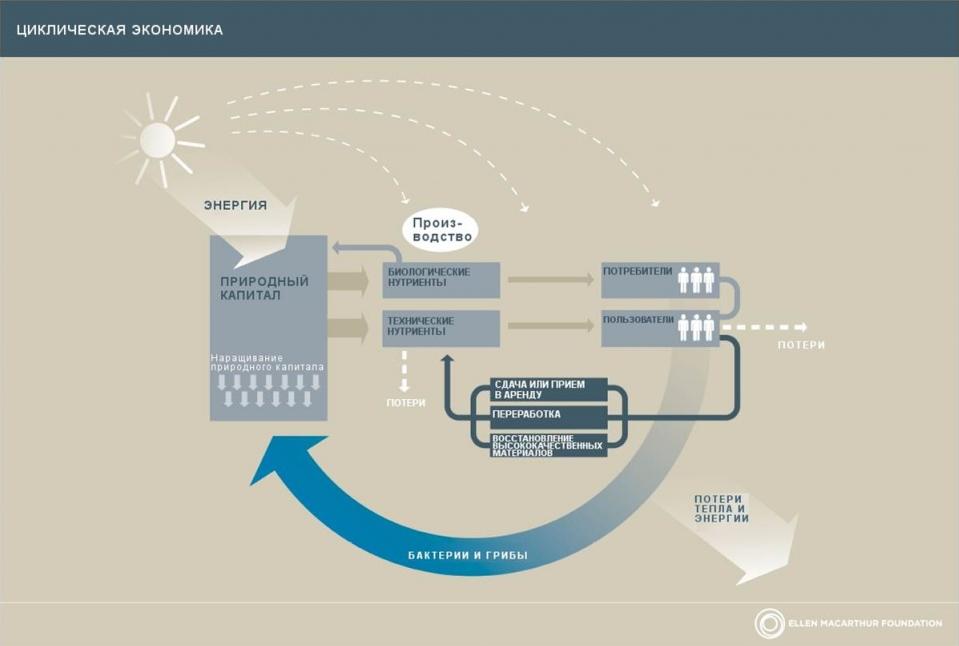 Циклическая экономика Circular economy