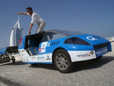 Солнечное такси Solartaxi: Around the World with the Sun